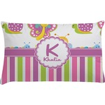 Butterflies & Stripes Pillow Case - Toddler (Personalized)