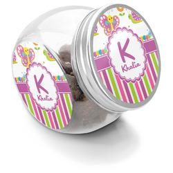 Butterflies & Stripes Puppy Treat Jar (Personalized)
