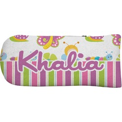 Butterflies & Stripes Putter Cover (Personalized)