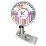 Butterflies & Stripes Retractable Badge Reel (Personalized)