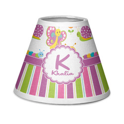 Butterflies & Stripes Chandelier Lamp Shade (Personalized)