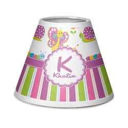 Butterflies & Stripes Chandelier Lamp Shade (Personalized)