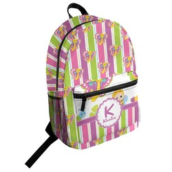 Butterflies & Stripes Student Backpack (Personalized)