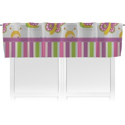Butterflies & Stripes Valance (Personalized)