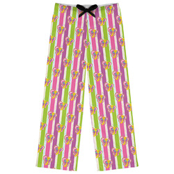 Butterflies & Stripes Womens Pajama Pants (Personalized)