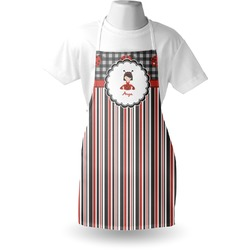 Ladybugs & Stripes Apron (Personalized)