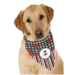 Ladybugs & Stripes Pet Bandanas (Personalized)