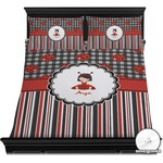 Ladybugs & Stripes Duvet Cover Set (Personalized)