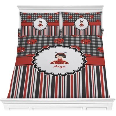 Ladybugs & Stripes Comforters (Personalized)