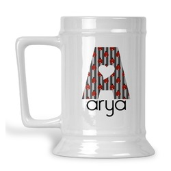 Ladybugs & Stripes Beer Stein (Personalized)