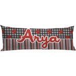 Ladybugs & Stripes Body Pillow Case (Personalized)