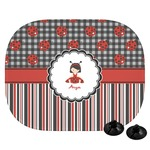 Ladybugs & Stripes Car Side Window Sun Shade (Personalized)