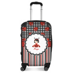 Ladybugs & Stripes Suitcase (Personalized)