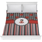Ladybugs & Stripes Comforter (Personalized)
