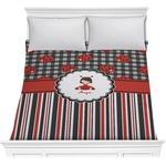 Ladybugs & Stripes Comforter (Personalized)