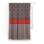 Ladybugs & Stripes Curtain (Personalized)