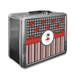 Ladybugs & Stripes Lunch Box (Personalized)