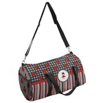 Ladybugs & Stripes Duffel Bag - Multiple Sizes (Personalized)