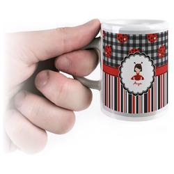 Ladybugs & Stripes Espresso Cups (Personalized)