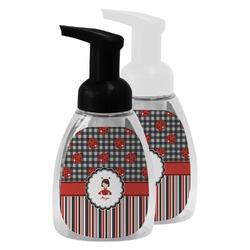 Ladybugs & Stripes Foam Soap Bottle (Personalized)
