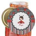Ladybugs & Stripes Jar Opener (Personalized)