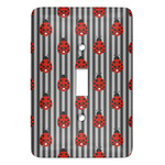 Ladybugs & Stripes Light Switch Covers (Personalized)