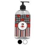 Ladybugs & Stripes Plastic Soap / Lotion Dispenser (Personalized)