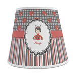 Ladybugs & Stripes Empire Lamp Shade (Personalized)