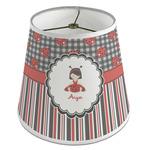 Ladybugs & Stripes Empire Lamp Shade (Personalized)