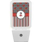 Ladybugs & Stripes Night Light (Personalized)
