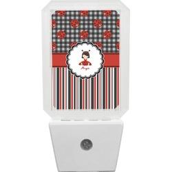 Ladybugs & Stripes Night Light (Personalized)