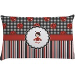 Ladybugs & Stripes Pillow Case (Personalized)