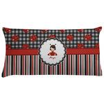 Ladybugs & Stripes Pillow Case (Personalized)