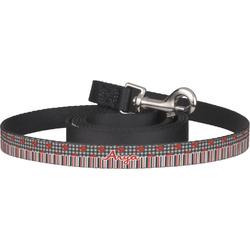 Ladybugs & Stripes Pet / Dog Leash (Personalized)