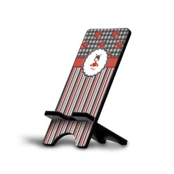 Ladybugs & Stripes Phone Stand (Personalized)
