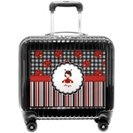 Ladybugs & Stripes Pilot / Flight Suitcase (Personalized)