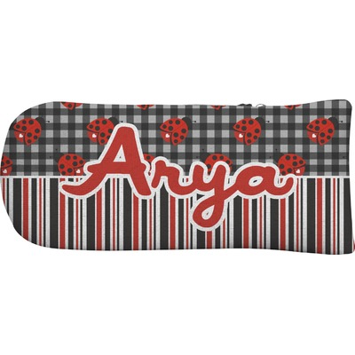 Ladybugs & Stripes Putter Cover (Personalized)