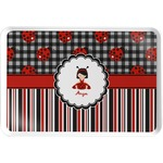 Ladybugs & Stripes Serving Tray (Personalized)