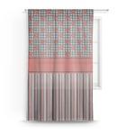 Ladybugs & Stripes Sheer Curtains (Personalized)
