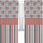 Ladybugs & Stripes Sheer Curtains (Personalized)