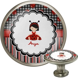 Ladybugs & Stripes Cabinet Knobs (Personalized)