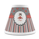 Ladybugs & Stripes Chandelier Lamp Shade (Personalized)