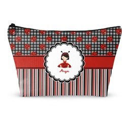 Ladybugs & Stripes Makeup Bags (Personalized)