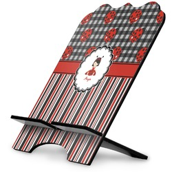 Ladybugs & Stripes Stylized Tablet Stand (Personalized)