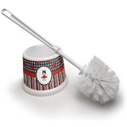 Ladybugs & Stripes Toilet Brush (Personalized)