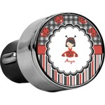 Ladybugs & Stripes USB Car Charger (Personalized)