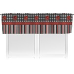 Ladybugs & Stripes Valance (Personalized)