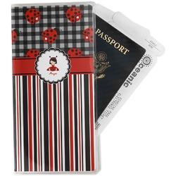 Ladybugs & Stripes Travel Document Holder