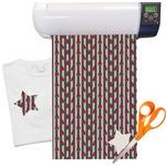"Ladybugs & Stripes Heat Transfer Vinyl Sheet (12""x18"")"