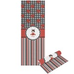 Ladybugs & Stripes Yoga Mat - Printable Front and Back (Personalized)